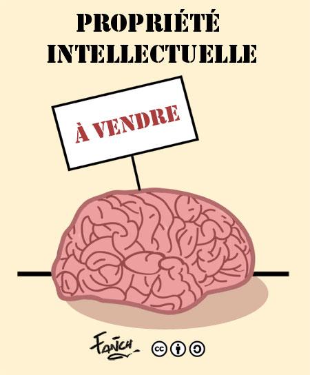 propriété intellectuelle plagiat cerveau à vendre protéger ses écrits