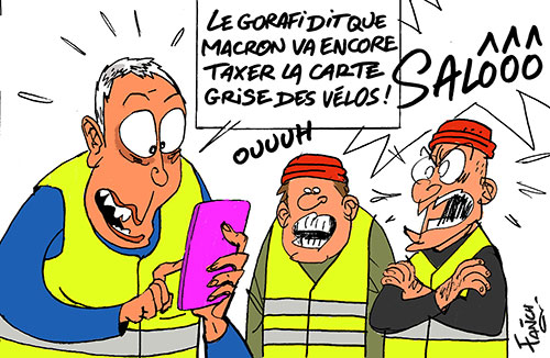 Gilets jaunes et fake news