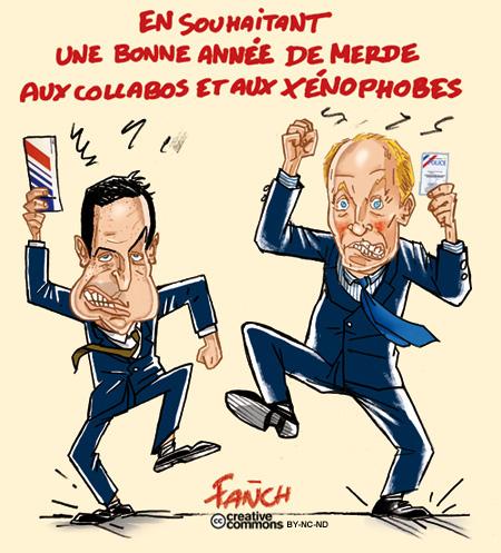 Eric Besson et Hortefeux trepignent et enragent contre Fanch