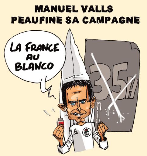 Manuel Valls candidat aux primaires du parti socialiste