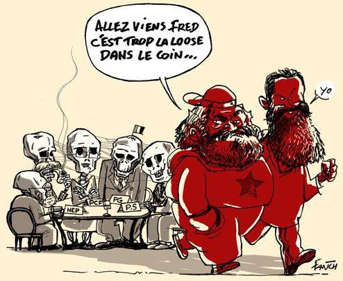 A bas la langue de boa ! Marx-Engels