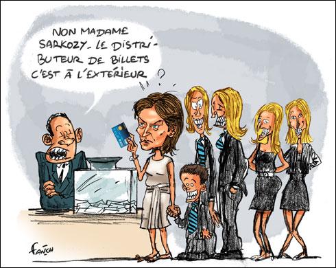 Cecilia Sarkozy confond sa carte bleue avec son bulletin de vote
