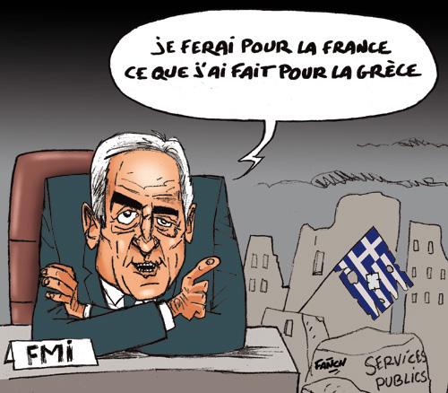 Strauss-Kahn du FMI aux présidentielles